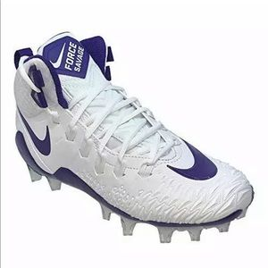 NEW NIKE FORCE SAVAGE PRO FOOTBALL CLEATS MENS 13